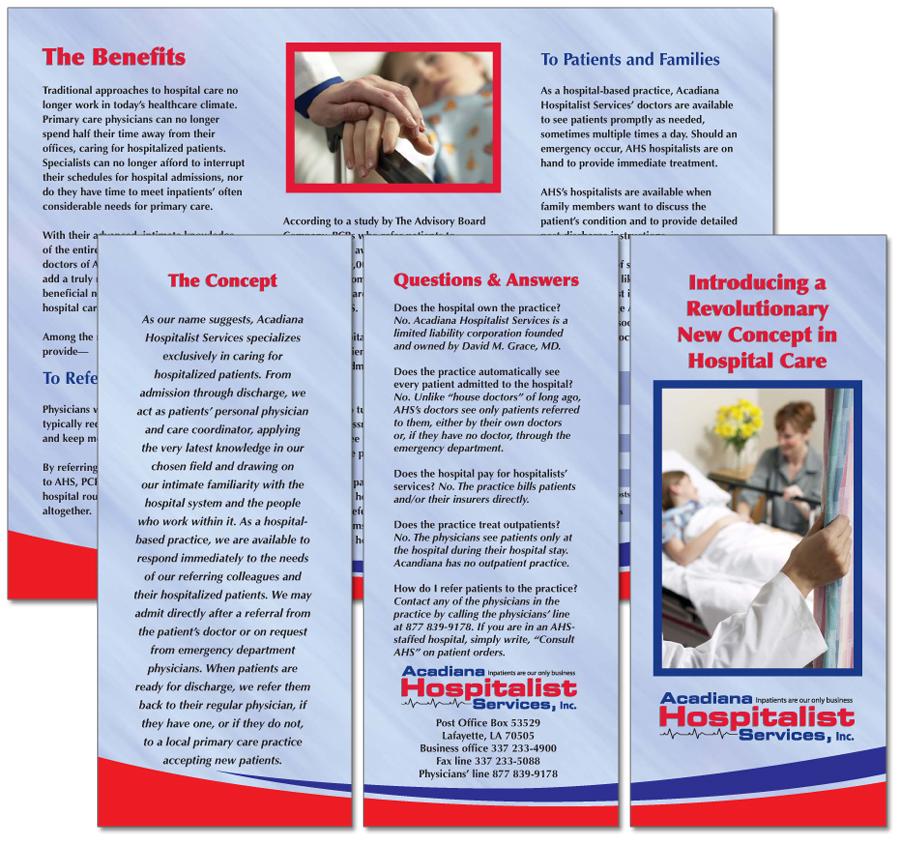 Acadiana Hospitalist Services, Inc., brochure