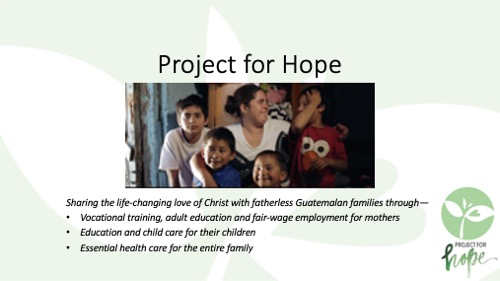 Project for Hope PowerPoint slide 1
