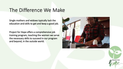 Project for Hope PowerPoint slide 10