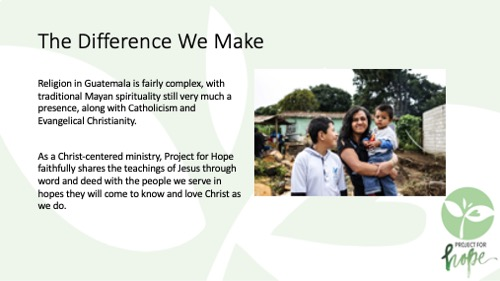Project for Hope PowerPoint slide 12