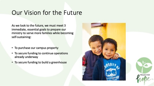 Project for Hope PowerPoint slide 13
