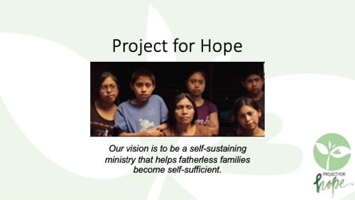 Project for Hope PowerPoint slide 2