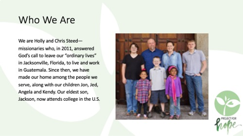 Project for Hope PowerPoint slide 4