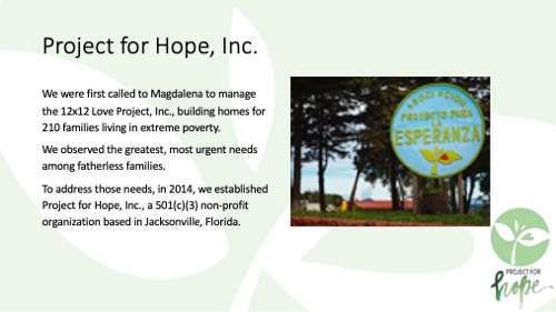 Project for Hope PowerPoint slide 6