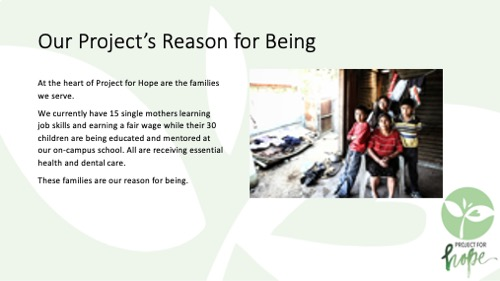 Project for Hope PowerPoint slide 8