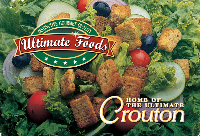 Ultimate Foods trade show banner