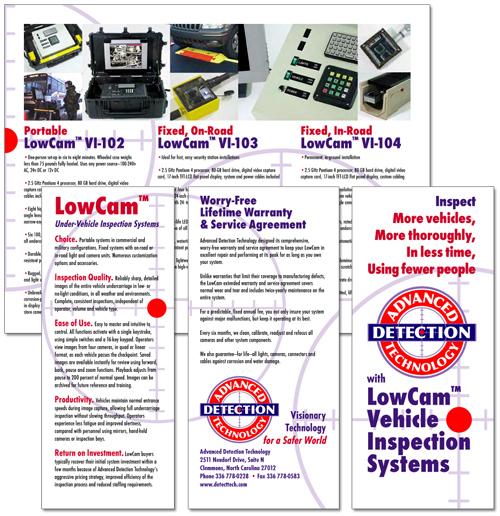 Advanced Detection Technology sales brochure
