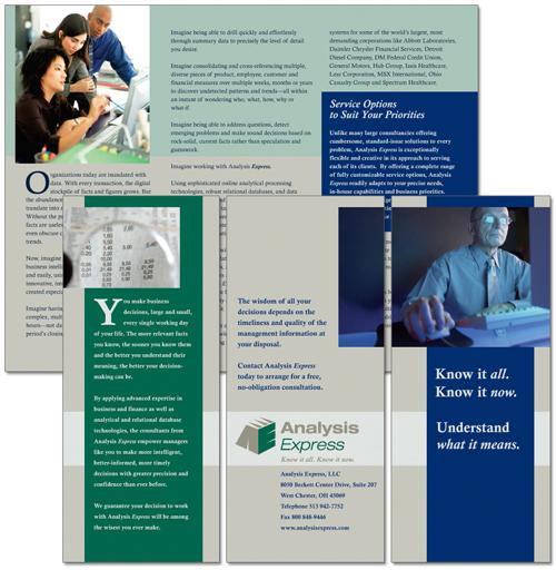 Analysis Express brochure