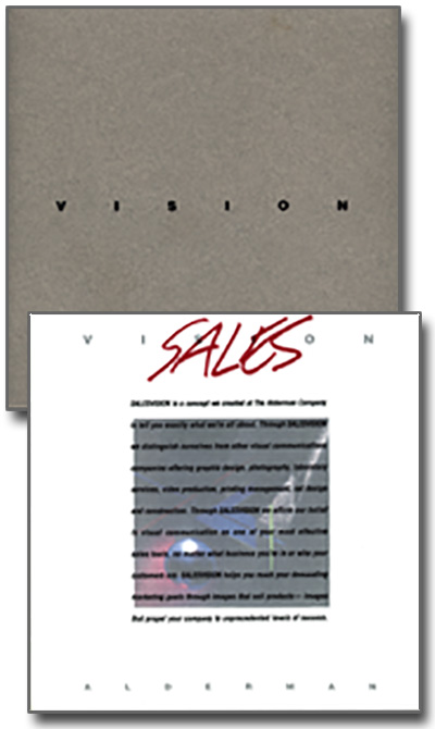 The Alderman Company's Sales Vision brochure