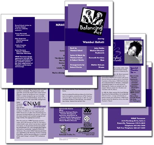 NAMI Tennessee 'Balancing Act' brochure