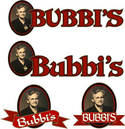 Bubbi's logo concepts