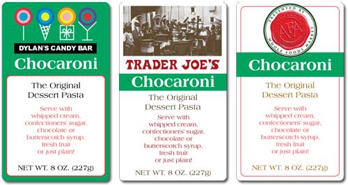 The Chocolate Pasta Company private label concepts