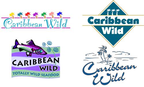 Caribbean Wild logo concepts