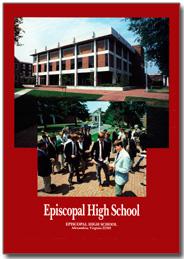Episcopal High School student viewbook cover
