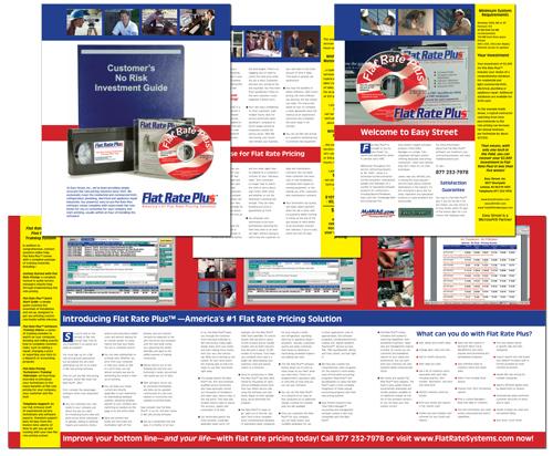 Easy Street's Flat Rate Plus brochure