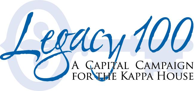 Kappa Legacy 100 campaign logo