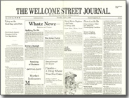 The Wellcome Street Journal April Fool's Day issue