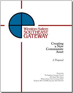 Winston-Salem Southeast Gateway proposal cover