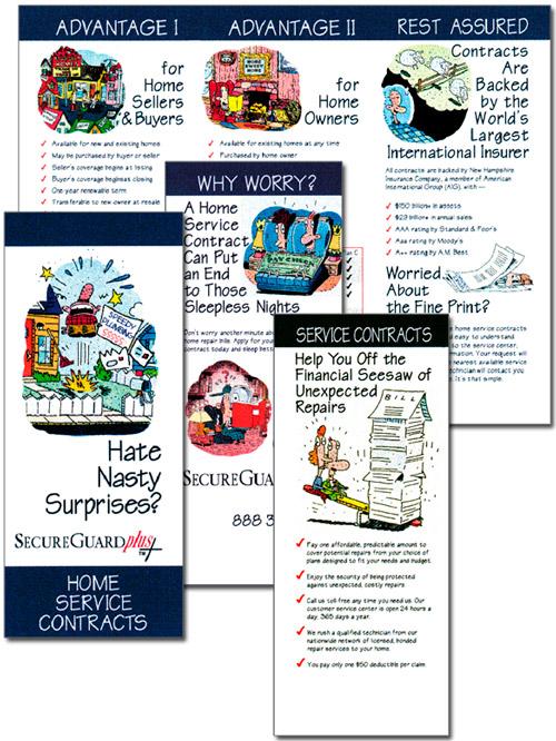 SecureGuard Home Service Contracts brochure