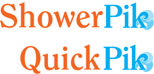 Logos for ShowerPik and QuickPik