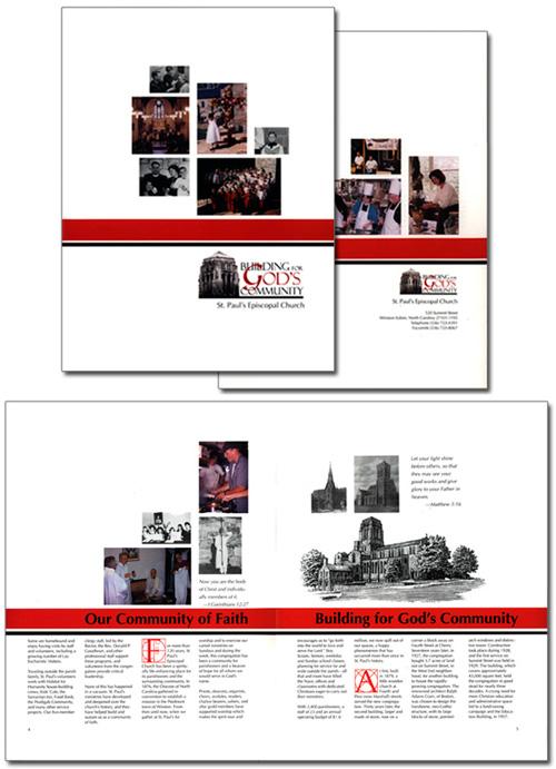 St. Paul's Episcopal Church case statement brochure