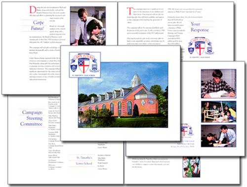 Saint Timothy's Hale School campaign case statement brochure