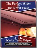 Adele Knits Tube Wipe brochure cover