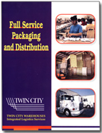 Twin City Warehouse brochure cover